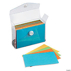 Mini Index Cards & Holder