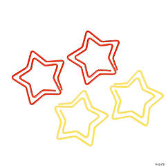 Star-Shaped Paper Clips