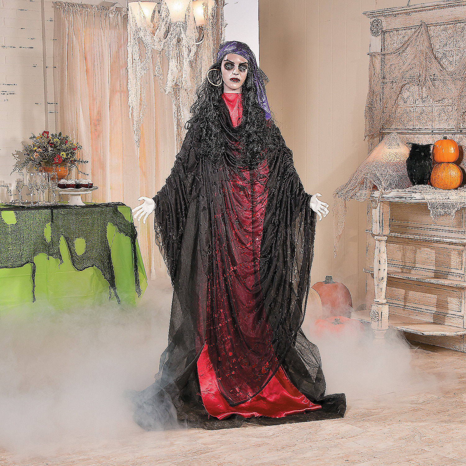 Madame Misery, Scary Halloween Decorations, Halloween