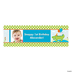Small Alligator Custom Photo Banner