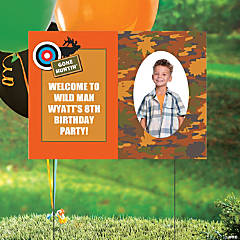Hunting Custom Photo Yard Sign