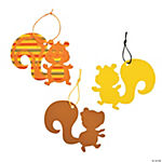 Magic Color Scratch Squirrel Ornaments