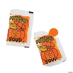 Pumpkin Soup Liquid Halloween Candy Packs