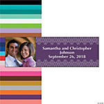 Italian Plum & Champagne Custom Photo Banner - Small