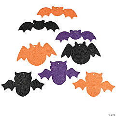 Glitter Bat Shapes