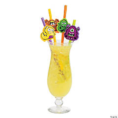 Monster Party Straws
