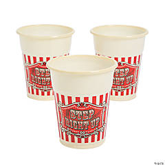 Big Top Terror Disposable Cups