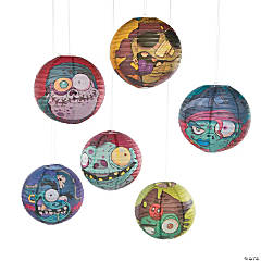 Zombie Pirate Paper Lanterns