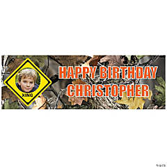 Small Hunting Custom Photo Banner