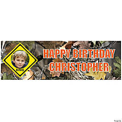 Medium Hunting Custom Photo Banner
