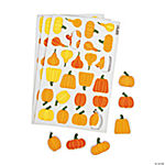 Pumpkin Self-Adhesive Shapes