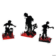 Paper Zombie Table Decorations