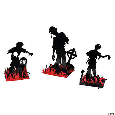 Zombie table decorations centerpieces party decorations for Table zombies