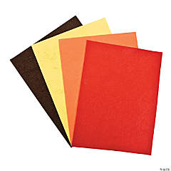 Gigantic Fall Felt Sheets