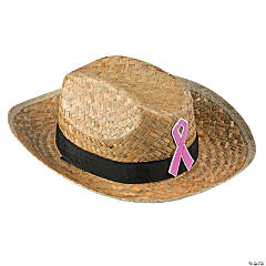 Pink Ribbon Cowboy Hats