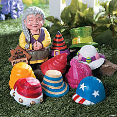 Girl Gnome Greeter Hats