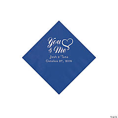Personalized Me & You Heart Napkins