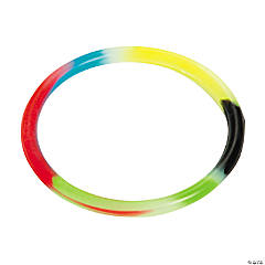"Vinyl ""Colors of Faith"" Glow-in-the-Dark Bracelets"