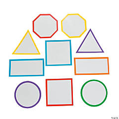 Geometric Shapes Dry Erase Magnets