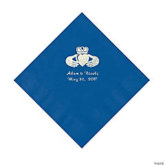 Blue Irish Personalized Napkins - Luncheon