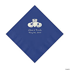 Purple Irish Personalized Napkins - Luncheon