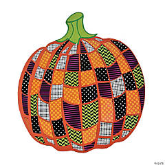 Giant Pumpkin Mosaic Sticker Scenes