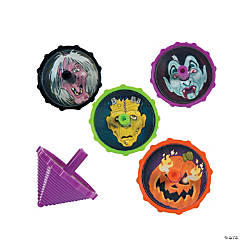 Scary Halloween Spin Tops