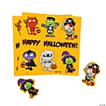 Halloween Costume Kids Sticker Sheets