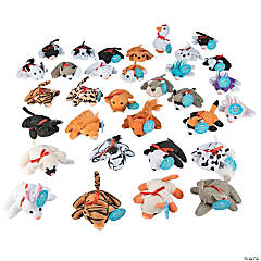 Plush Bible Verse Mini Bean Bag Animal Assortment
