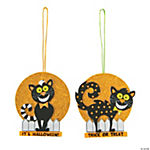 Spooky Cats Ornament Craft Kit
