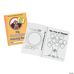 Finish the Story Thanksgiving Activity Books