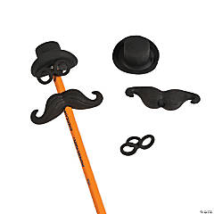 Hat, Glasses & Mustache Eraser Set