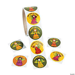 Autumn Angels Roll of Stickers