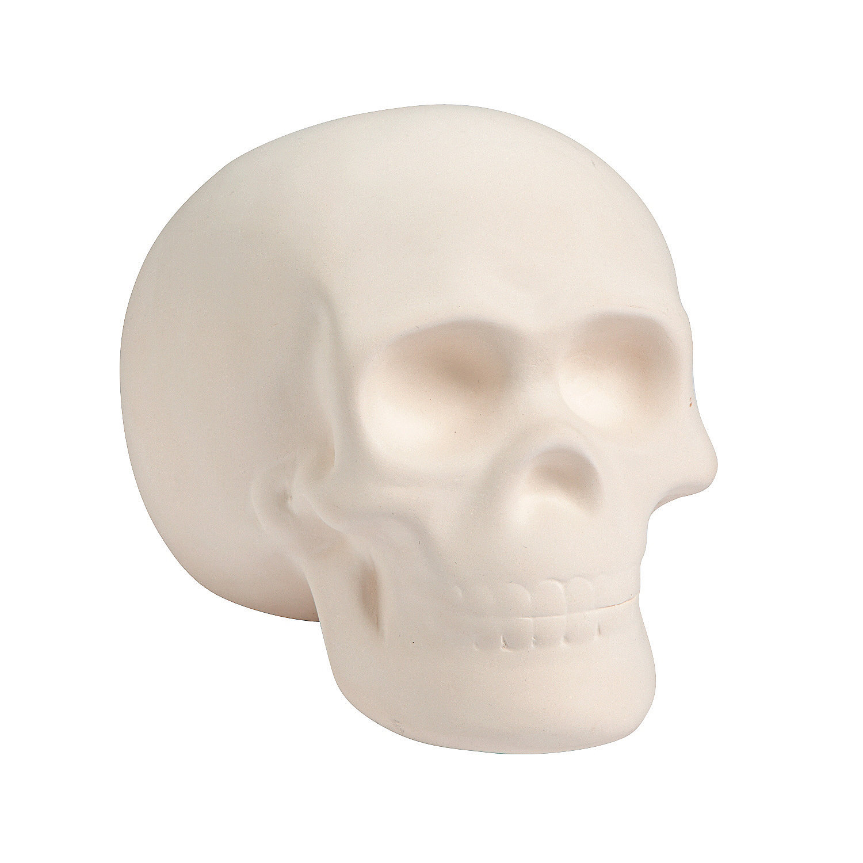 DIY Ceramic Skull, Decoration Crafts, Adult Crafts, Craft ...