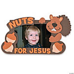 Religious Fall Squirrel Picture Frame Craft Kit