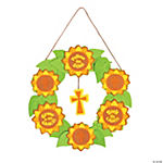 Follow the Son Sunflower Wreath Craft Kit