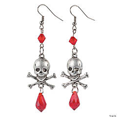 Skull & Crossbones Earring Craft Kit