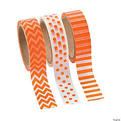 Orange Washi Tape Set