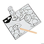 Color Your Own Daniel & the Lions' Den Craft Kit