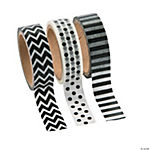 Black & White Washi Tape Set