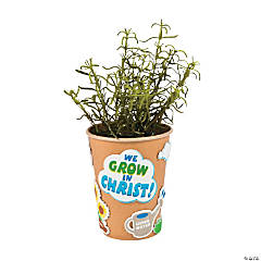 Grow in Christ Flowerpot Craft Kit