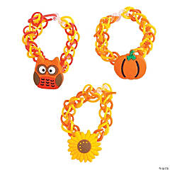 Fall Fun Loop Bracelet & Charm Craft Kit