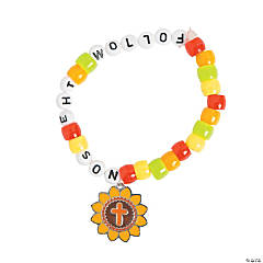 Follow the Son Pony Bead Bracelet Craft Kit