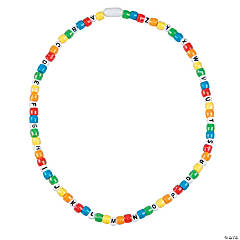 Alphabet Bead Necklace Craft Kit