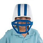 Blue Team Spirit Football Helmet