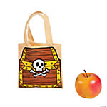 Small Pirate Tote Bag