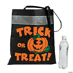 Reflective Trick-or-Treat Tote Bags
