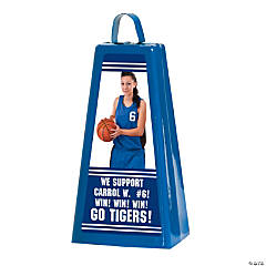 Custom Photo Jumbo Cowbell - Blue