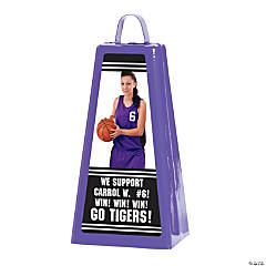 Custom Photo Jumbo Cowbell - Purple