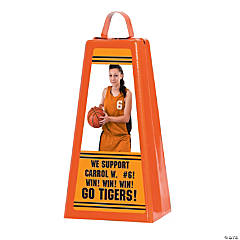 Custom Photo Jumbo Cowbell - Orange